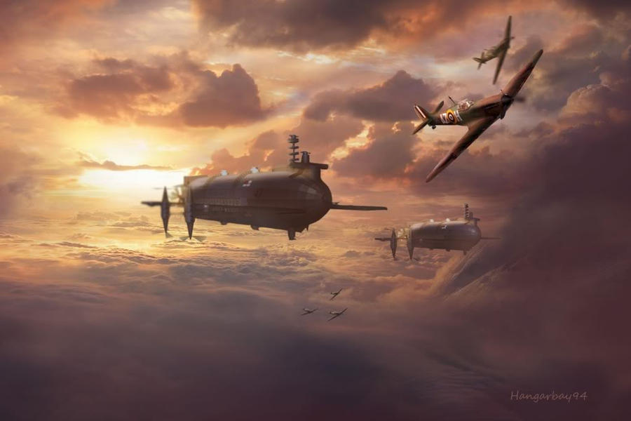 Steampunk Battle of Britain no2 by hangarbay94 on DeviantArt