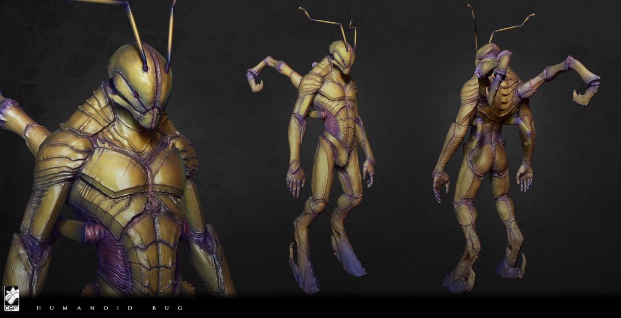 Muntes ? Crab Humanoid