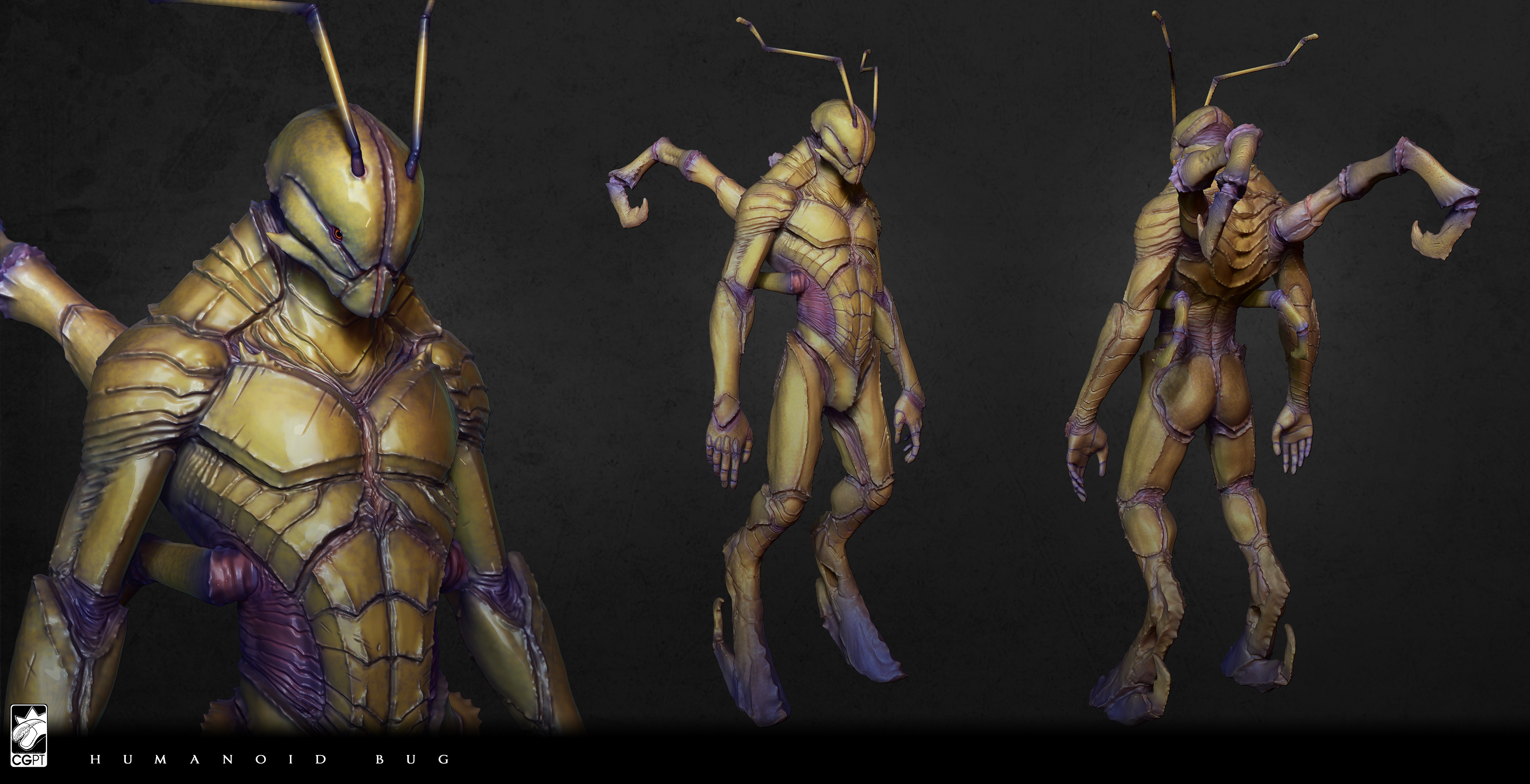 Humanoid Bug concept by CGPTTeam on DeviantArt