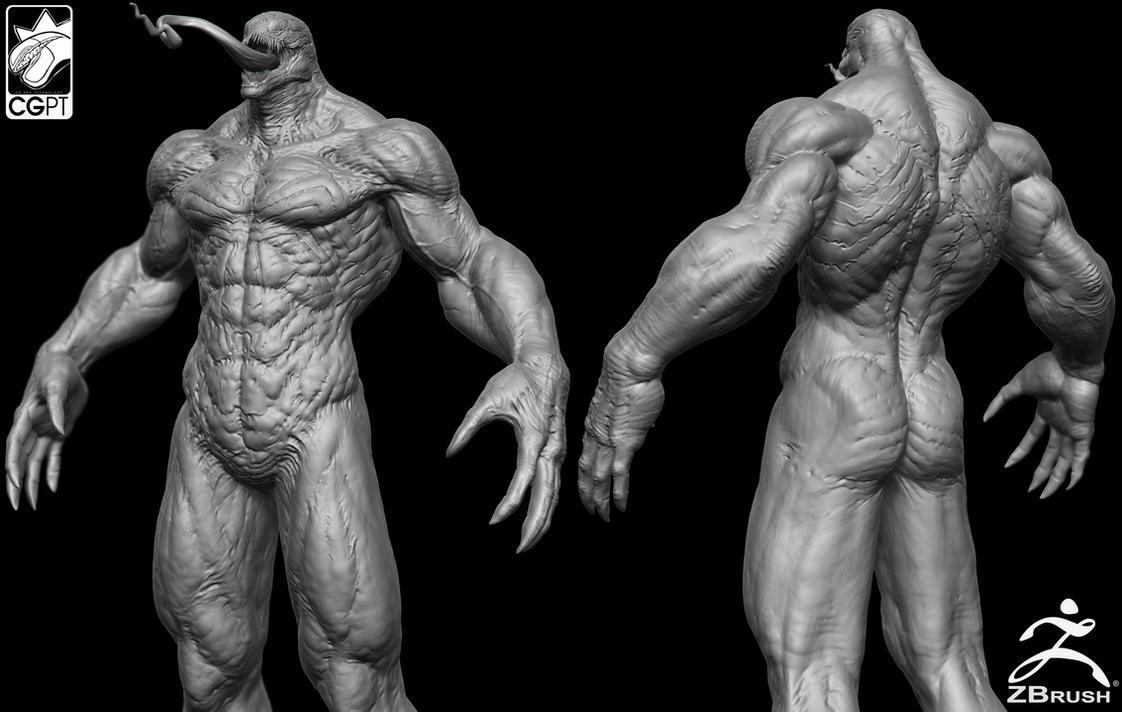 Venom Zbrush By Cgptteam On Deviantart