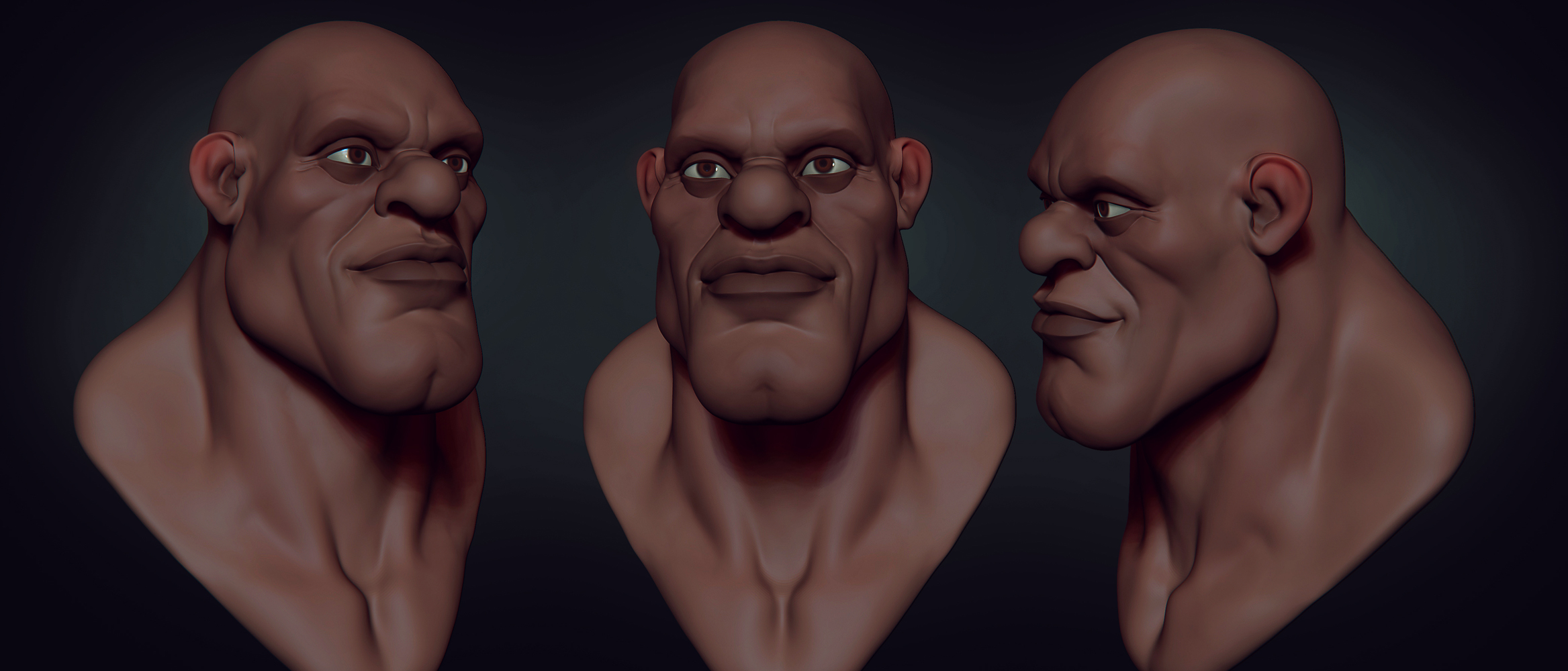 stylized head 1 by CGPTTeam