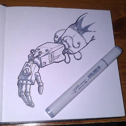 Sketchbook - Robot Arm