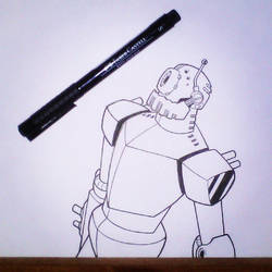 Robot Pen Drawing