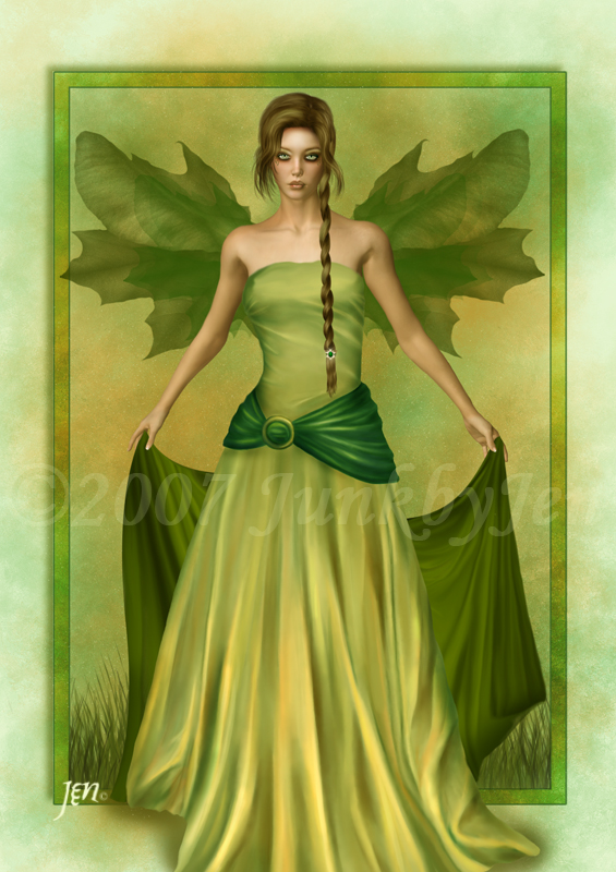 ::Spring Goddess:: by JunkbyJen