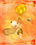 ::Baby Birthday Bee::