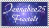 jennabee25 fractals stamp by JunkbyJen