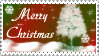 Merry Christmas Stamp by JunkbyJen