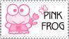 Yahuli ::Pink Frog:: stamp by JunkbyJen