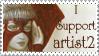 artist2 Support Stamp by JunkbyJen