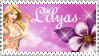 Lilyas Stamp Contest Entry by JunkbyJen