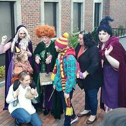 The Wood Crew Meets The Sanderson Sisters