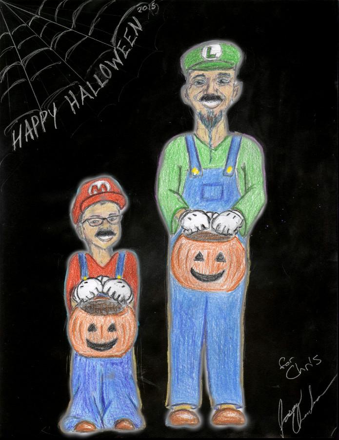 Happy Halloween Chris by JasonShine