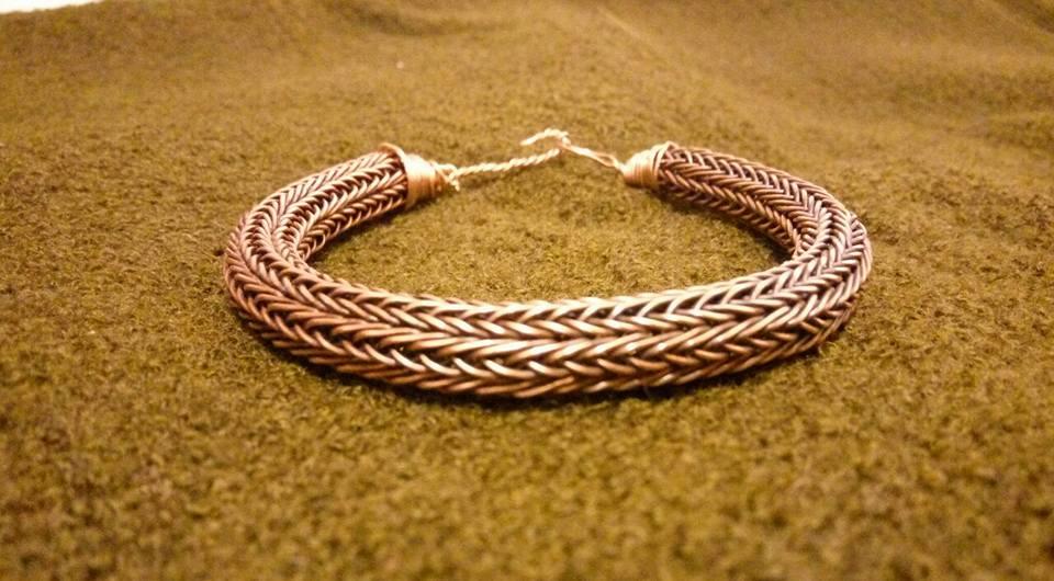 Massive viking knit bracelet by vikingknit