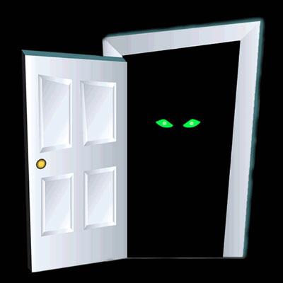 The Spooky Door by shadesmaclean ... & The Spooky Door by shadesmaclean on DeviantArt