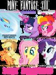 Pony Fantasy XIII - Pony Paradigms