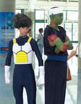 AX 08-23 - Vegeta and Piccolo by shadesmaclean