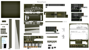 Fallout Pip-Boy 3000 Winamp Assets