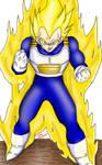 Super Saiyan Vegeta (Manga Recolor)