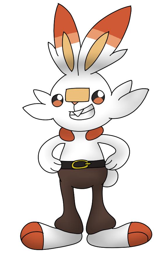 Pokemon S+S: Scorbunny