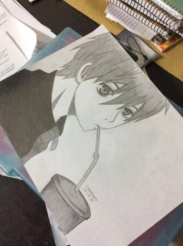 Kuroko 1 by lilredbleed