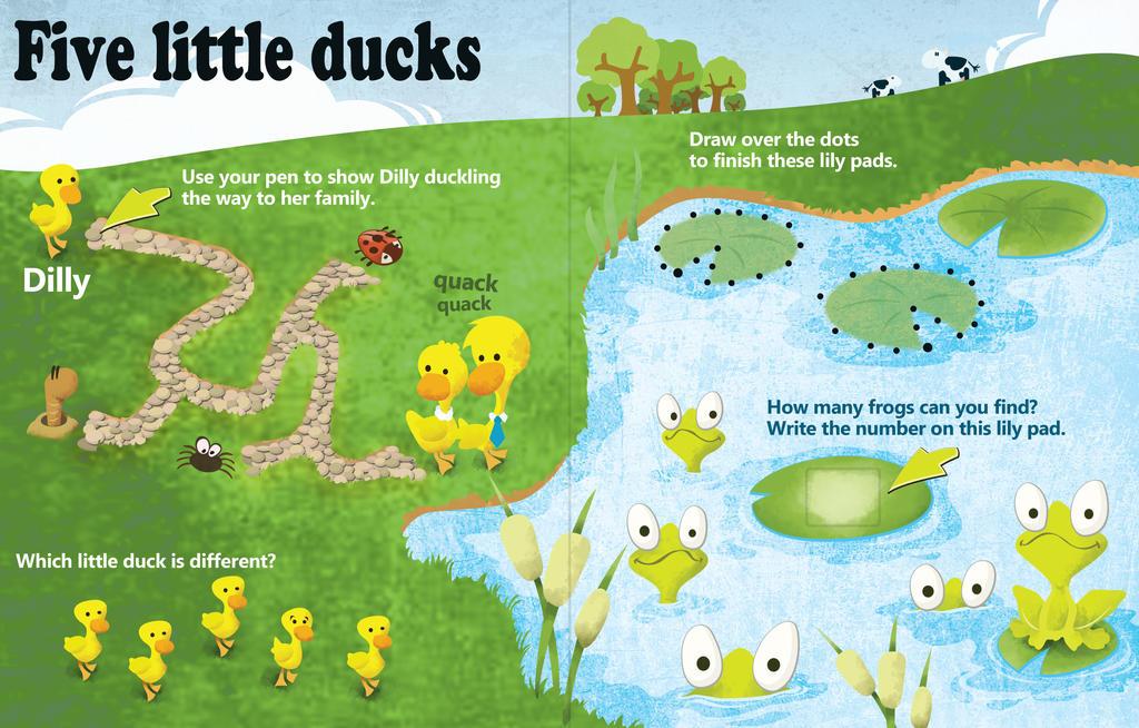 Coloured Ducks by Dr-Von-Poopenheimer
