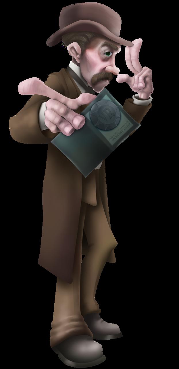 Lestrade by Dr-Von-Poopenheimer