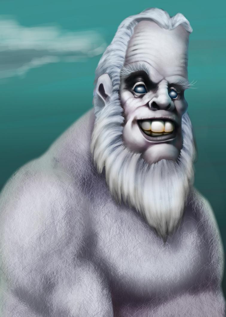 A Yeti maybe? by Dr-Von-Poopenheimer