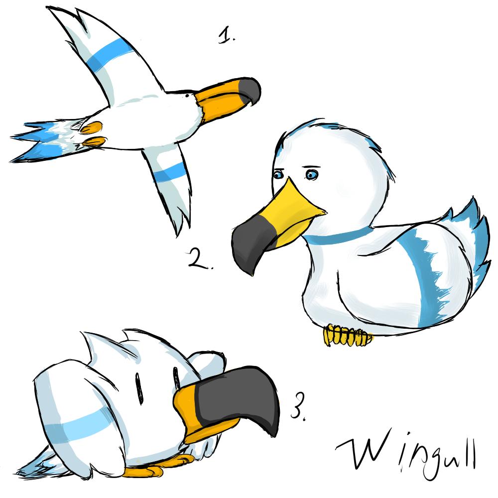 Pokemon Wingull Evolution Images | Pokemon Images