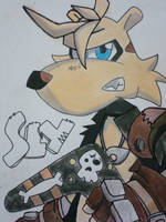 Sly The Tasmanian Tiger by RykknnRox19