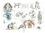 Mammoth sketches