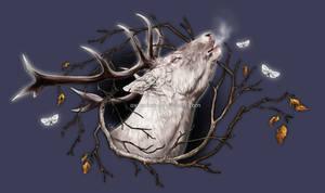 Spirit of the Winter Woods