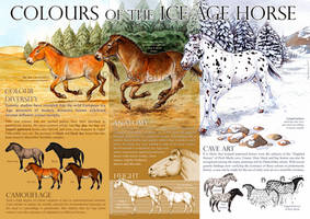 Colours of the Ice Age Horse by oxpecker