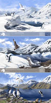 Antarctica - Future scenarios by oxpecker