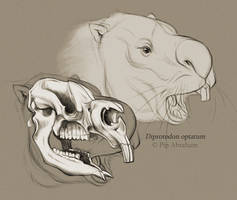 #Draw30Animals 2: Megafauna - Diprotodon