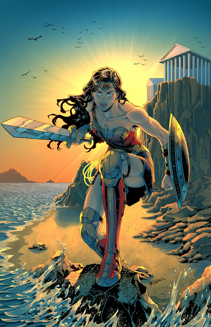 Wonder Woman - color by MooneeArt