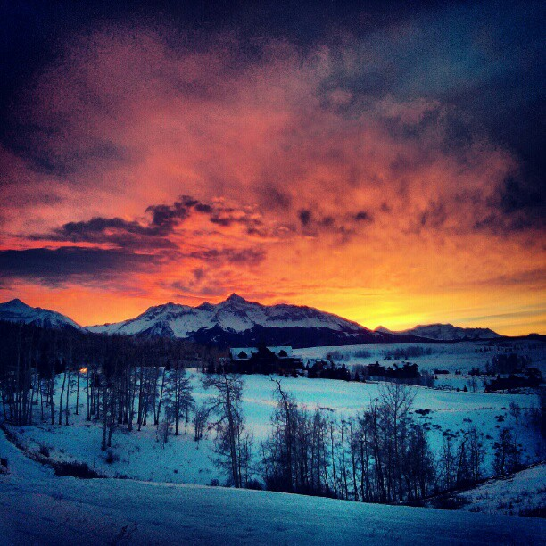 Telluride Sunset by mmusgjerd