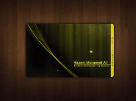 Hazem Business card by Atef-Emran