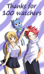 Nalu Thanks For 100 Wtchers