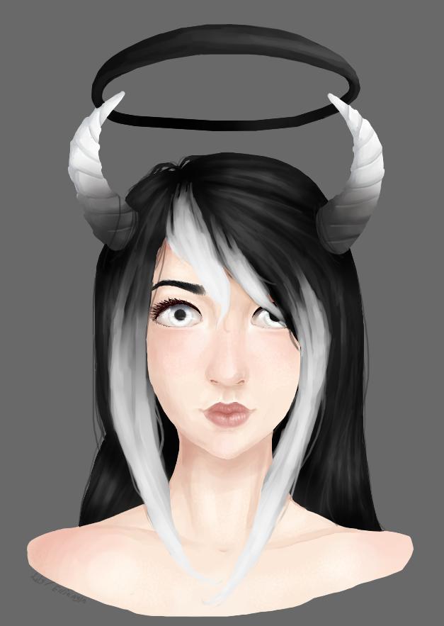 .: Dark demon :. by LilyNion
