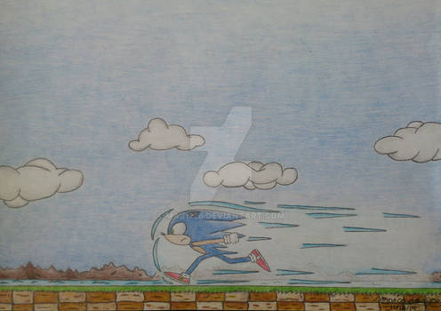 Sonic The Hedgehog: The King of Speed