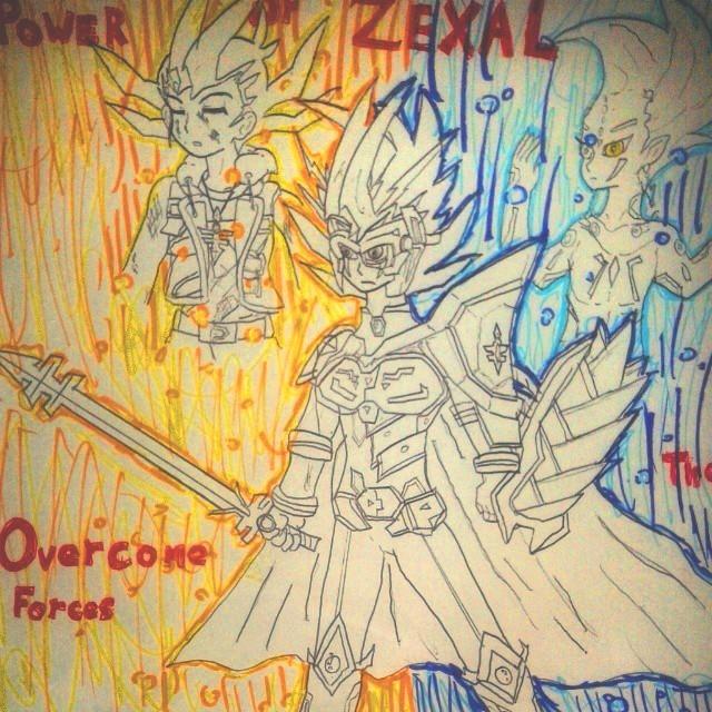 Yuma (Zexal Armor) by 459Silver