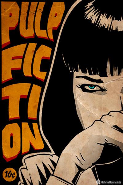 Pulp Fiction Minimalist Concept By GobinBombArts