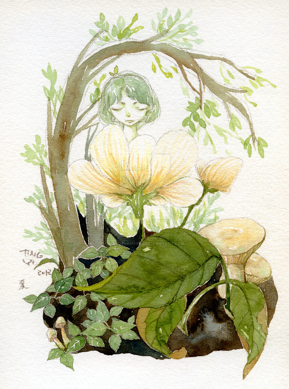 Forest Spirit by daydreamerre