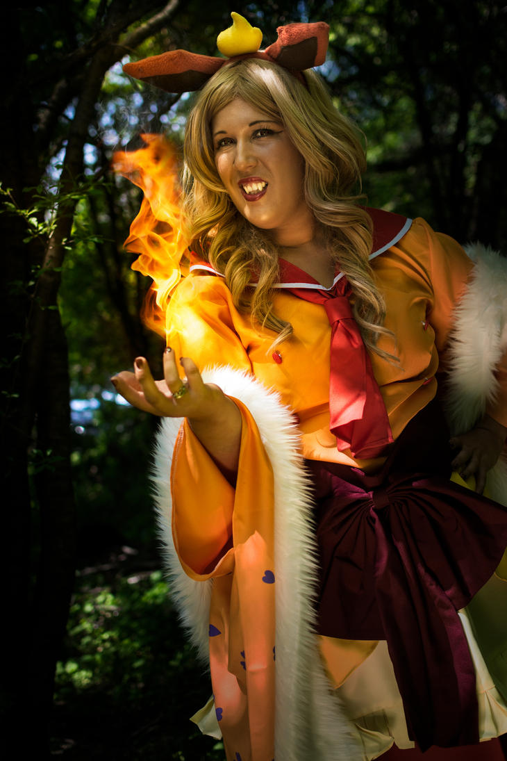 Flareon by Duly Noted Cosplay by YGKtech