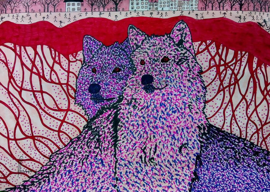Norwegian Wolves by bernardojr