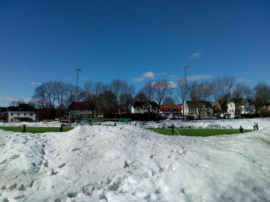 Football season starting in Norway, Oslo. by bernardojr