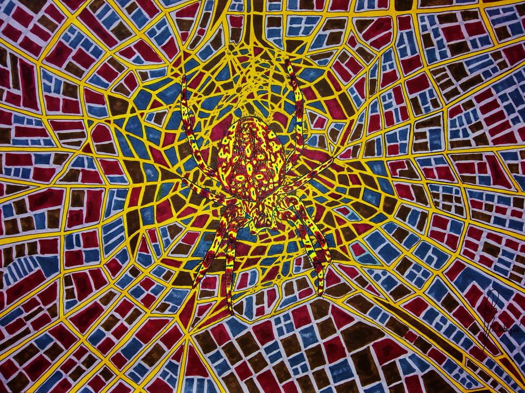 Major City Cross Spider by bernardojr