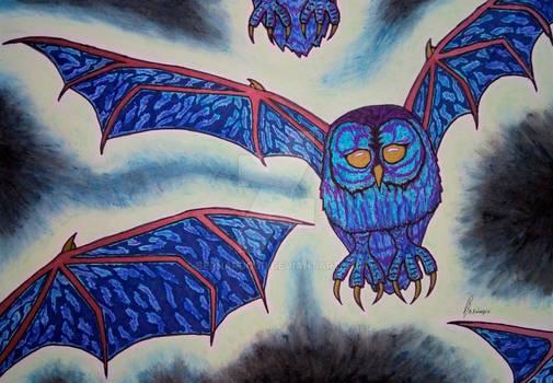 Threebeaked BatOwl.