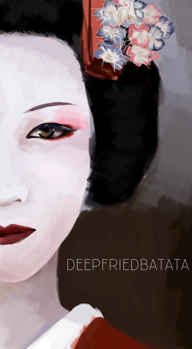 Geisha by DeepFriedBatata