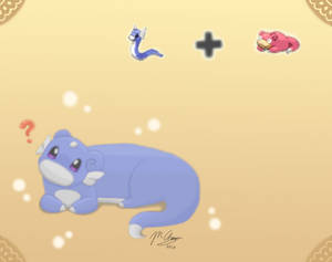 Pokemon fusion- Drapoke